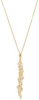 Armenta Sueno 18K Yellow Gold, White Sapphire & 0.33 Total Ct. Diamond Cluster Drop Pendant Necklace