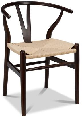 Apt2B Sylmar Side Chair WALNUT/CHOICE OF SEAT COLOR - SET OF 2