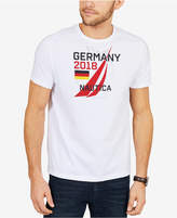 Nautica Men's Germany Graphic-Print Cotton T-Shirt