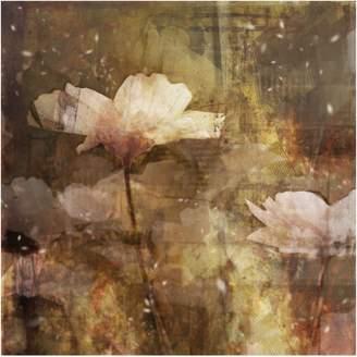 Artmaison Canada Brown Floral Wall Art