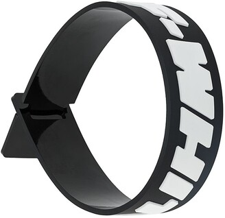 Off-White Industrial Rubber Wristband