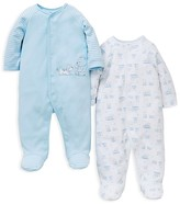 Little Me Infant Boys' Friends Footie 2 Pack - Sizes Newborn-9 Months