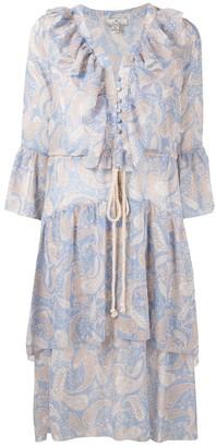 We Are Kindred Amalfi paisley-print dress