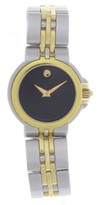 Movado 81 36 835 Two tone Stainless Steel 27mm Womens Watch