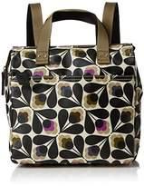 Orla Kiely Womens Matt Laminated Sycamore Seed Print Small Backpack Backpack