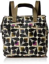 Orla Kiely Women's Matt Laminated Sycamore Seed Print Small Backpack Shoulder Handbag,21 x 26.5 x 9 cm (W x H x L)