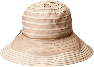 San Diego Hat Company Women's Medium 4-Inch Brim Ribbon Floppy Hat
