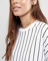 Asos Fine Chain Choker Necklace