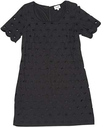 Bel Air Black Cotton Dresses