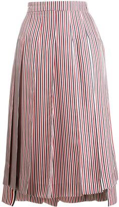 Thom Browne RWB Silk Lining Skirt
