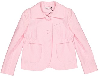 Carven Pink Cotton Jacket for Women