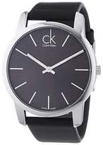 Calvin Klein Men's Analogue Quartz Watch with Leather Strap – K2G21107