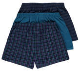 George Teal Patterned Jersey Boxers 3 Pack