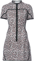 A.L.C. printed short dress - women - Silk - 2