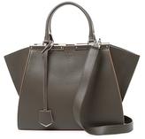 Fendi 3Jours Leather Zipped Satchel