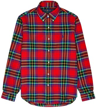 Polo Ralph Lauren Checked slim-fit cotton shirt