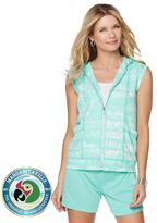 Margaritaville French Terry Zip-Up Hooded Vest