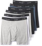 Hanes Men's Classics 5-pack + 1 Bonus Tagless Boxer Briefs