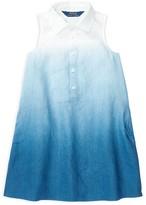 Ralph Lauren Girls' Dip Dye Dress - Little Kid