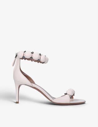 Azzedine Alaia Bombe 75 spike-embellished leather sandals