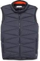 Orlebar Brown Heaney Quilted Shell Down Gilet - Charcoal