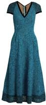 Roland Mouret Etwell V-neck midi dress