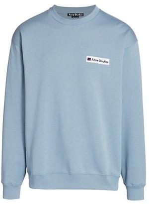 Acne Studios Logo Fleece Sweatshirt