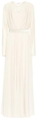 Max Mara Trani crApe gown