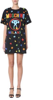 Moschino Dress With Logo