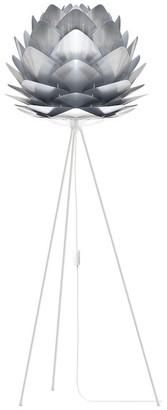 "Vita Copenhagen Silvia 60"" Tripod Floor Lamp, White/Steel"