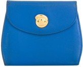 Cartier logo plaque wallet