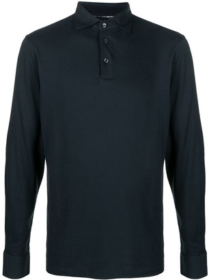 Hackett Elbow Patch Polo Shirt