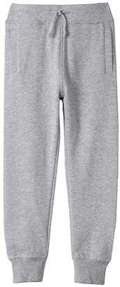 #4kids Essential Fleece Joggers (Little Kids/Big Kids) (Black) Kid's Clothing