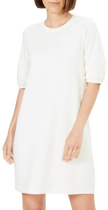 French Connection Puff Sleeve Sweat Dress