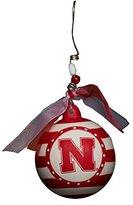 Glory Haus Nebraska Stripe Ornament