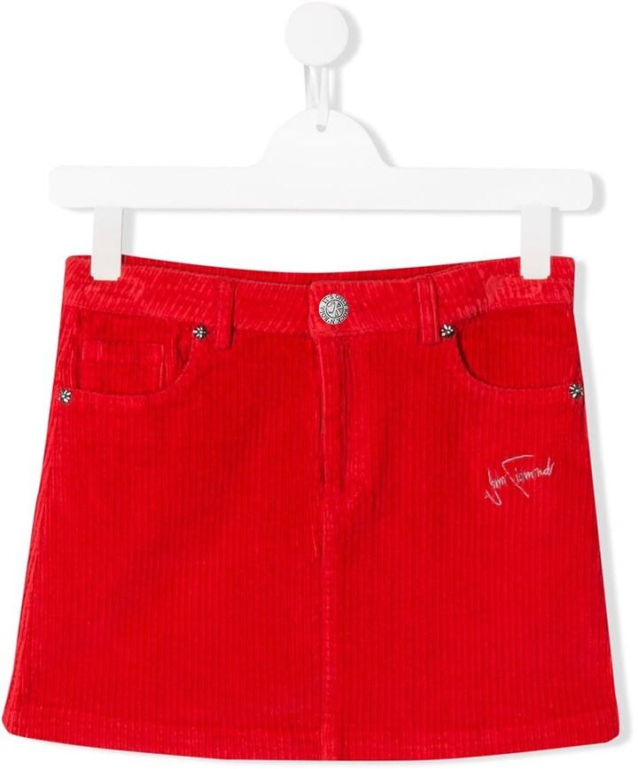 John Richmond Junior TEEN corduroy short skirt