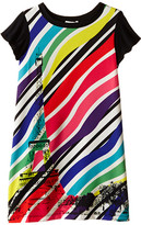 Junior Gaultier Sabha Striped Neon Dress (Big Kid)