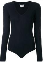 Maison Margiela long-sleeved body - women - Nylon/Spandex/Elastane - 40