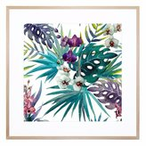 United Artworks Grandiflora Giclee Print With Frame