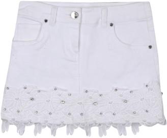 MISS GRANT Denim skirts