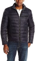 Ungaro Emanuel by Men's Down Reversible Puffer with Camo Print