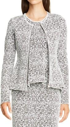 HUGO BOSS Festiny Zip Front Cardigan