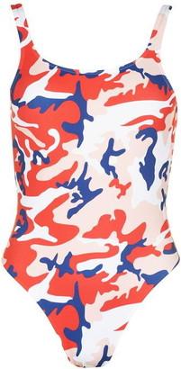 Calvin Klein Warhol Scoop Swimsuit