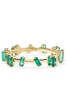 Suzanne Kalan 18-karat Gold Emerald Ring