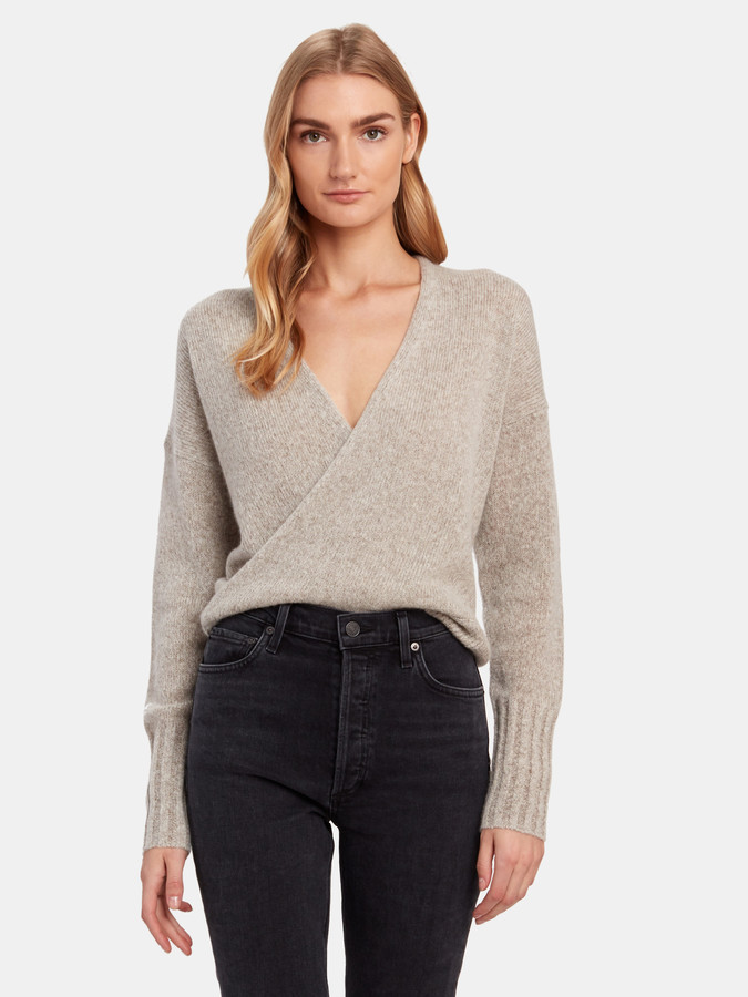 360 Cashmere 360cashmere Karlie Pullover Wrap Sweater