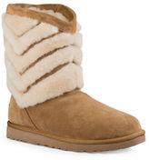 UGG Tania Chevron Sheepskin Fur Boots
