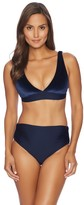 Luxe by Lisa Vogel Bleu Nuit Halter Bikini Top