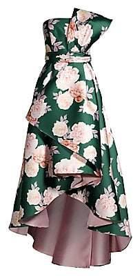 Sachin + Babi Women's Mia Floral High-Low A-Line Dress