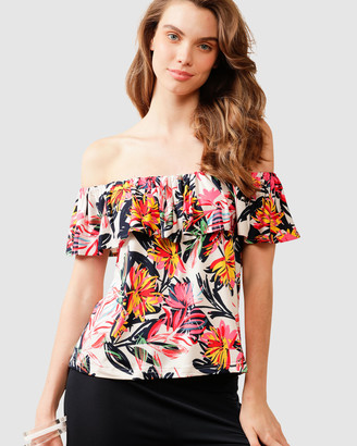 SACHA DRAKE - Women's Multi Tops - Northcliffe Top - Size One Size, 14 at The Iconic