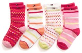 Tommy Hilfiger Final Sale- Infant Party Socks 4pk